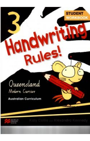 handwriting queensland modern cursive book 3